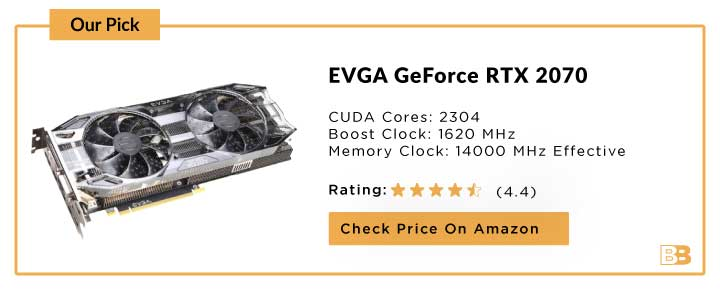 EVGA GeForce RTX 2070 Black GAMING