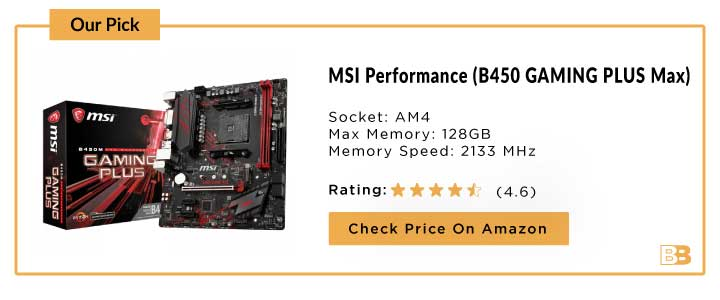 MSI Performance Gaming (B450 GAMING PLUS Max)