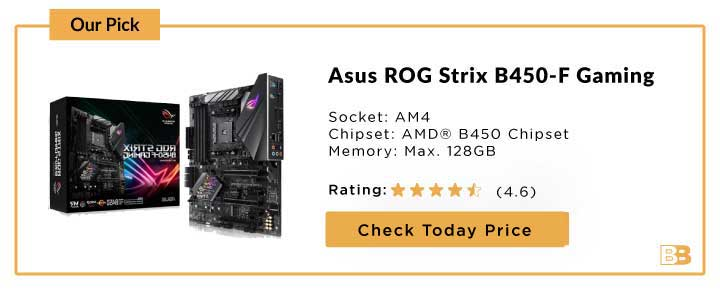 Asus ROG STRIX B450-F GAMING ATX AM4 Motherboard
