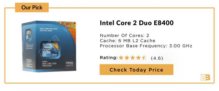 Intel Core 2 Duo E8400