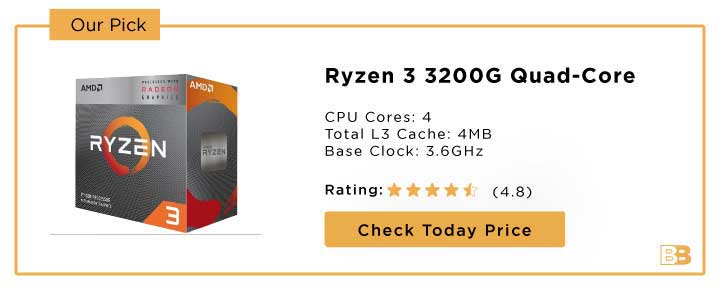 Ryzen 3 3200G Quad-Core Processor