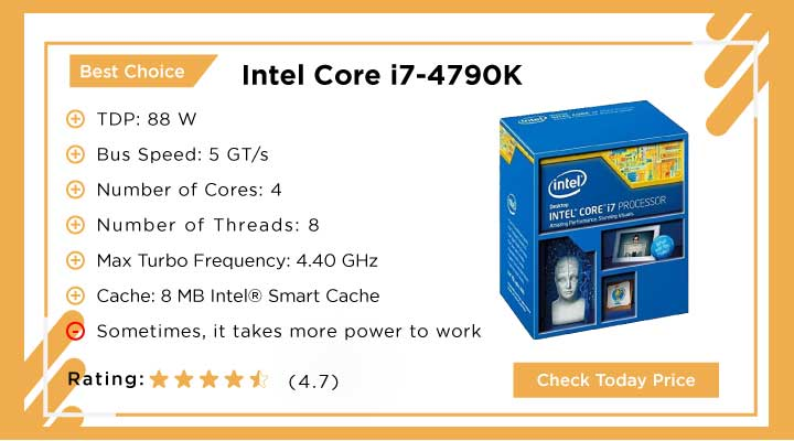 Best Choice: Intel Core i7-4790K CPU