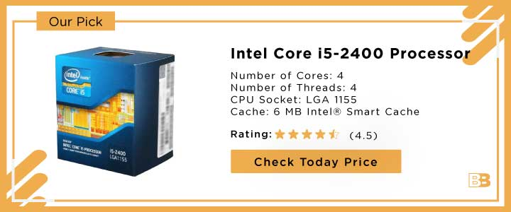 Intel Core i5-2400 Quad-Core Processor