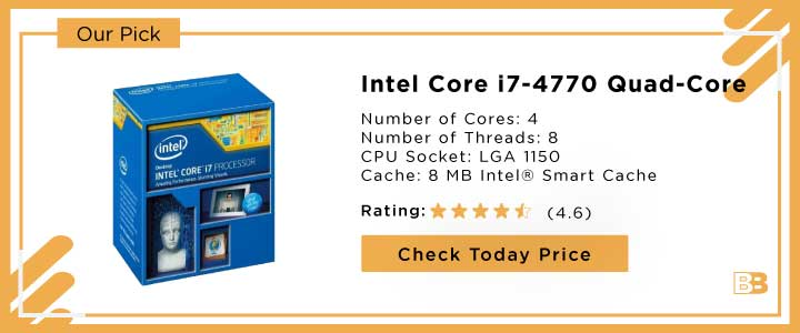 Intel Core i7-4770 Quad-Core Processor