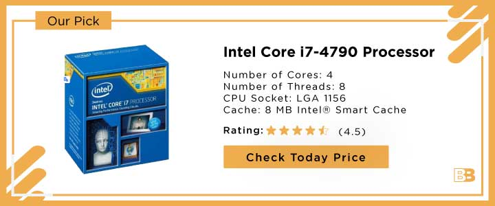Intel Core i7-4790 Processor 3.6GHz