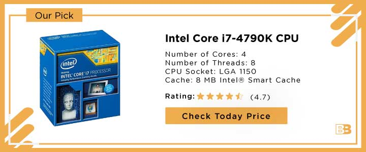 Intel Core i7-4790K CPU